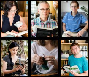Das Team von Bücherkaffee