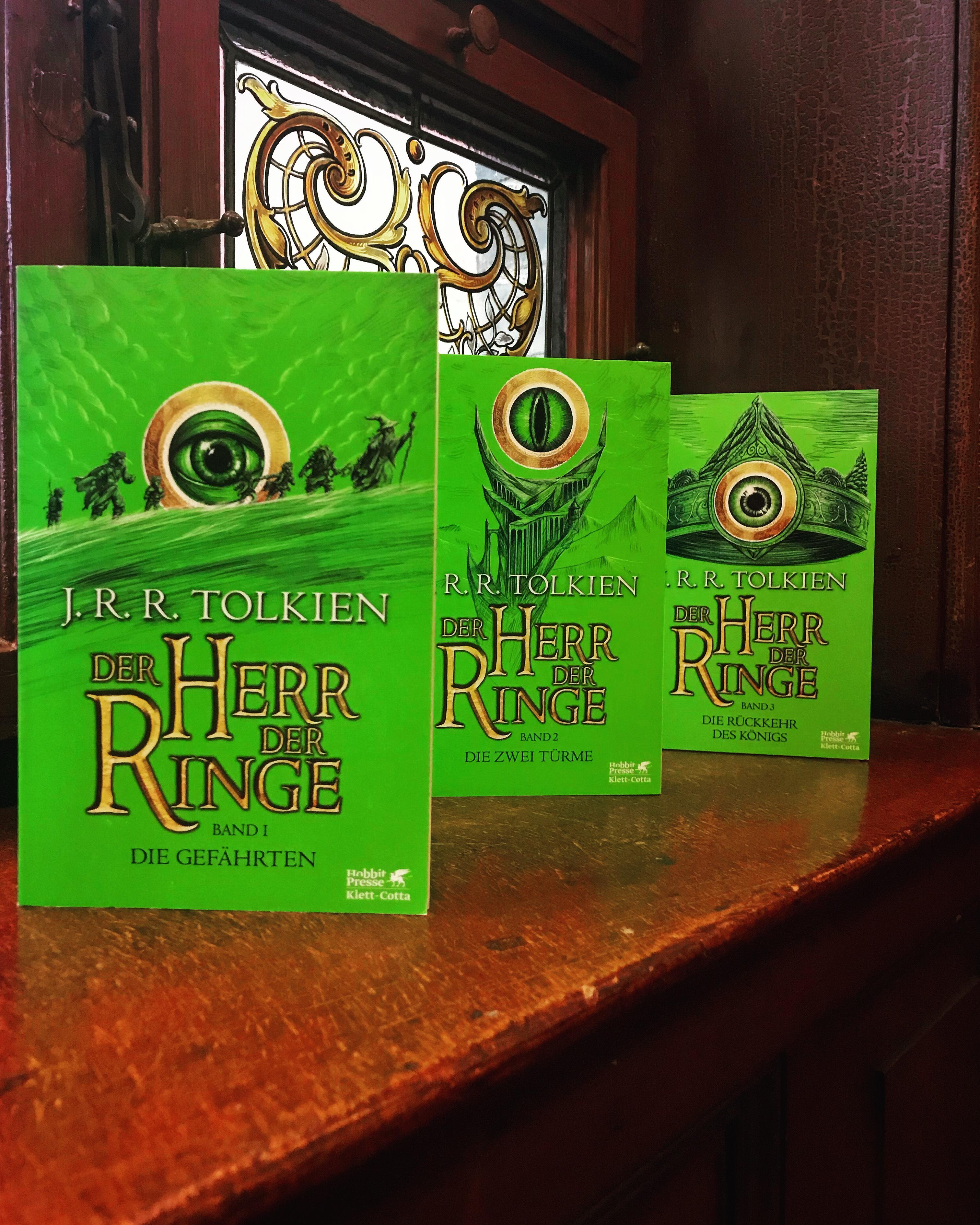 Der Herr der Ringe – Drei Übersetzungen aus der Sicht eines langjährigen Fans