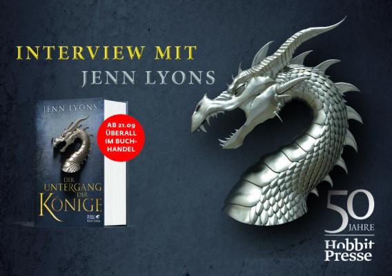 Interview mit Jenn Lyons über Der Untergang der Könige